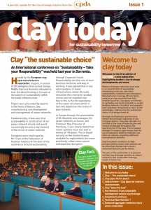 Clay Today Issue 1