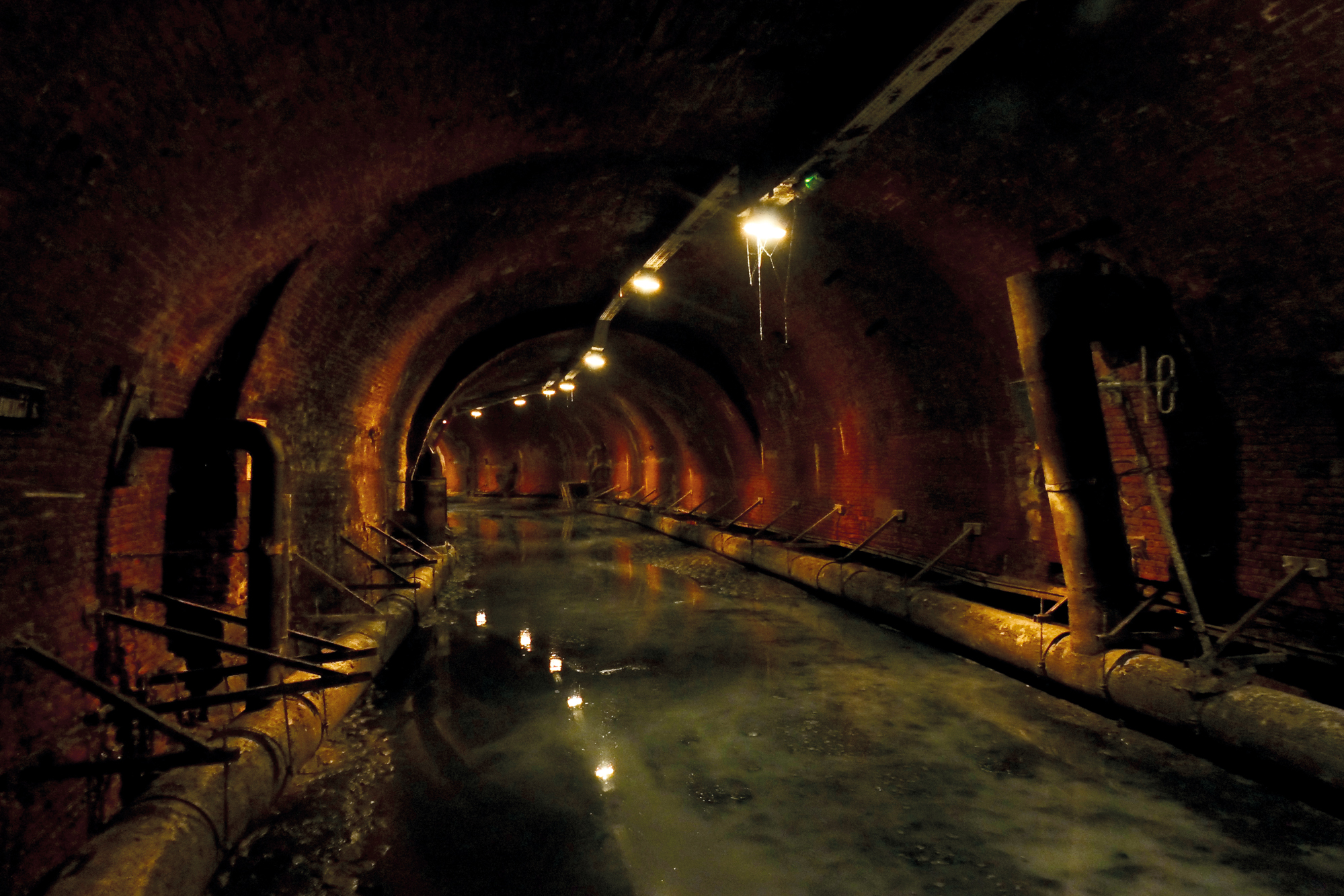 Pipe Dreams   Under Montreal  Inside Sewer Water